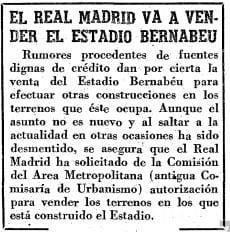 Venta Bernabéu 1.964