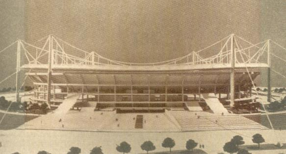 Maqueta Nuevo Bernabéu 1.973 Exterior