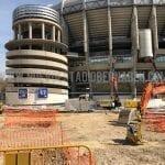 Obras Santiago Bernabeu marzo 2020